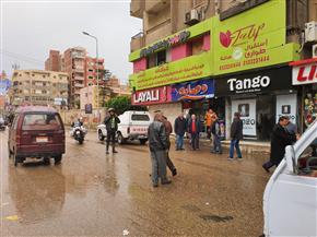 شعراوي: المحافظات تقوم بشفط المياه من أماكن التجمعات | صور