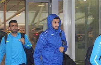 بعثة الإسماعيلي تصل إلى مطار القاهرة استعدادا للسفر إلى المغرب