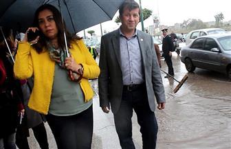محافظة دمياط تتفقد الشوارع وتتابع حالة الطقس السيئ من غرفة العمليات | صور