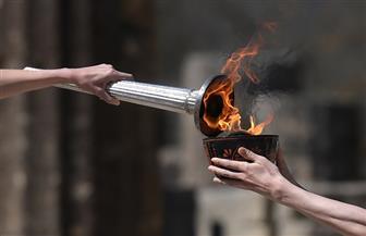 إشعال الشعلة الأولمبية في أثينا أمام عدد محدود من المدعوين