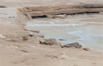 الري: سدود وادي دجلة حمت زهراء المعادي من أمطار الطقس السيئ | صور وفيديو