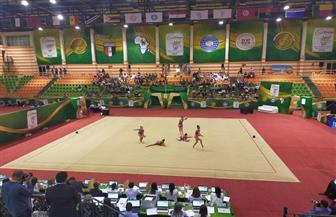 حفل افتتاح رائع للبطولة الإفريقية للجمباز الإيقاعي والأيروبيكفي شرم الشيخ | صور