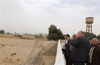 محافظ قنا: مخر سيل المعنا يستقبل 15 مليون متر مكعب يوميا من المياه