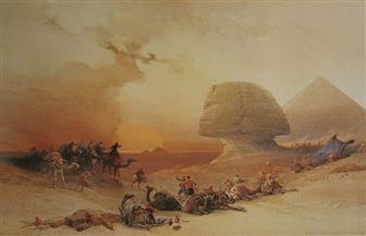 من العاصفة الرملية لتساقط الثلوج.. كيف تم رصد ظواهر الطقس حول الأهرامات عبر التاريخ؟