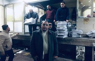 إبراهيم العقباوي: إدارة التوزيع والاشتراكات تتحدى الطقس السيئ للوصول إلى القارئ   صور وفيديو