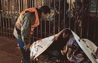 التضامن تنقذ 323 مشردا من مواجهة الطقس السيئ بالشوارع | صور