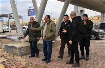 وزير الإسكان فى جولة بمواقع التعامل مع الأمطار بمدينتى 6 أكتوبر والشيخ زايد   صور