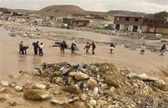 غلق خلية التخلص الآمن من مخلفات منطقة الزرايب بمدينة ١٥ مايو جراء السيول الأخيرة