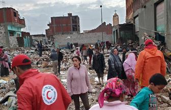 ننشر إجراءات وجهود التضامن لإغاثة منطقة الزرايب