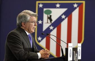 رئيس أتليتكو مدريد يحذر من خسائر مادية فادحة لو ألغيت الليجا