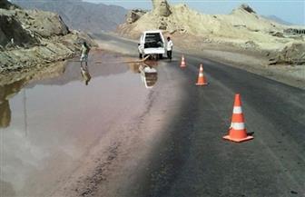 إعادة فتح 7 طرق رئيسية بعد شفط مياه الأمطار وعودة حركة السيارات