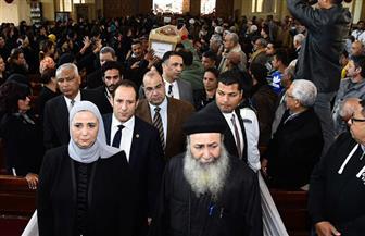 """""""القباج"""" تشارك في قداس جنازة ضحايا منطقة الزرايب وتقدم التعازي لأسرهم   صور"""