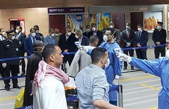 سلطات الحجر بمطار القاهرة تبدأ استعمال أجهزة الكاشف السريع لفيروس كورونا
