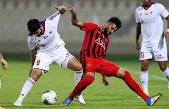 الشارقة يهزم الفجيرة بثلاثية في الدوري الإماراتي