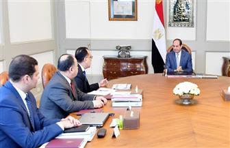 الرئيس السيسي يوجه باتخاذ عدد من الإجراءات التي تستهدف زيادة دخول العاملين بالدولة