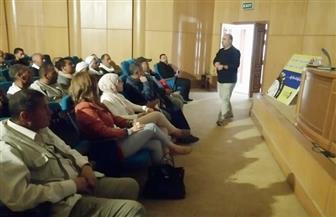 دورات تدريبية لتأهيل العاملين بمنطقة سقارة الأثرية على الخدمات السياحية | صور