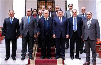 أسامة هيكل يلتقي مكرم محمد أحمد وأعضاء المجلس الأعلى لتنظيم الإعلام | صور