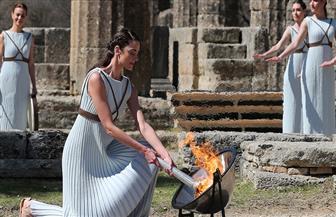 تسليم شعلة أولمبياد 2020 خلف أبواب مغلقة في أثينا بسبب «كورونا»