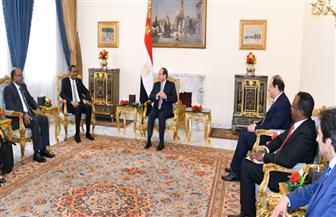 الرئيس السيسي: مصر دائما سند ودعم للسودان