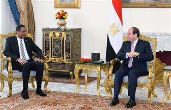 الرئيس السيسي يستقبل النائب الأول لرئيس مجلس السيادة الانتقالي السوداني