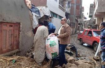 محافظ الشرقية يأمر بتقديم الرعاية للأسر المتضررة من سقوط الأمطار