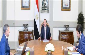 تفاصيل اجتماع الرئيس السيسي مع رئيس هيئة قناة السويس