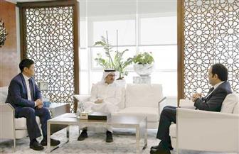 الأمين العام لمجلس حكماء المسلمين والأمين العام للعليا للأخوة الإنسانية يستقبلان سفير كازاخستان