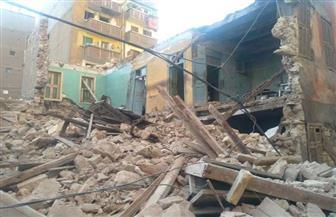 انهيار أجزاء من 3 عقارات غرب الإسكندرية| صور