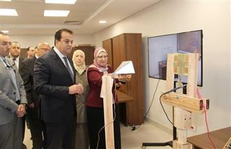 وزير التعليم العالي يتفقد مدينة العلوم والتكنولوجيا لأبحاث وصناعة الإلكترونيات | صور