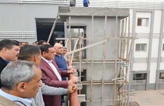 محافظ البحيرة يتفقد أعمال تطوير محطة دمنهور بتكلفة 100 مليون جنيه | صور