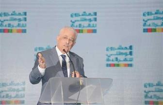 """وزير التعليم: الدول تتسابق بالعلم وليس بـ""""التريقة"""" و""""الكوميكس"""" على مواقع التواصل الاجتماعي"""