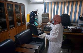 معامل شركة مياه سوهاج تنتج الكحول لمواجهة خطر انتشار فيروس كورونا   صور