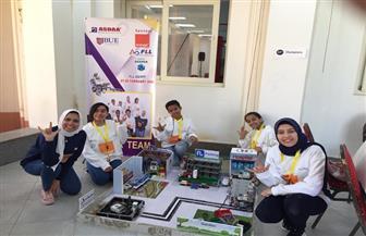 فريق من الصم يفوز بالمركز الثاني في مسابقة للروبوت بمشروع لتسهيل حياة ذوي الإعاقة في المدن | صور