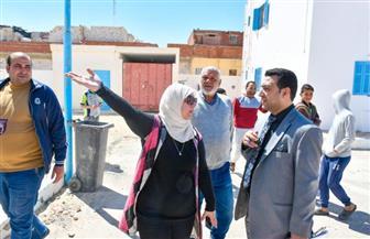 نائبة محافظ مطروح تتفقد موقع إنشاء أول دار للأطفال والفتيات الأيتام