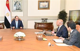 الرئيس السيسي يوجه بإكمال إنشاء كافة الخدمات المطلوبة على جميع الطرق والمحاور الجديدة الجاري تشييدها