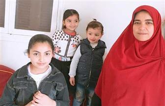 حورية عياد.. الأم المثالية بكفر الشيخ: عانيت كثيرا لتربية أولادي الثلاثة وتعليمهم | صور