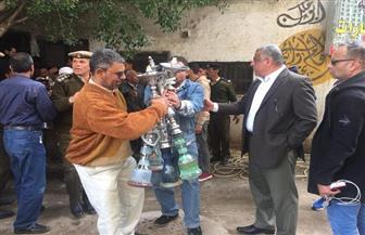 محافظ الشرقية: مصادرة وإعدام 200 شيشة بـ 25 مقهى |صور