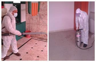 مدينة مرسى مطروح: تعقيم مبنى مديرية الأمن والحماية المدنية لمواجهة كورونا  صور