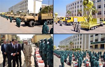 """القوات المسلحة تعاون أجهزة الدولة لتنفيذ كافة الإجراءات الوقائية والاحترازية لمجابهة فيروس """"كورونا"""""""