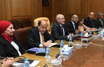 العصار يناقش مع رئيس هيئة الاستثمار العديد من المشروعات المستهدف تنفيذها