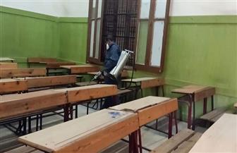 تطهير 5 مدارس بالإسكندرية لمواجهة كورونا