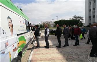 إجراء الكشف الطبي الاحترازي على العاملين بالقابضة للمطارات لمواجهة «كورونا»   صور