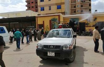 محافظ كفرالشيخ يقرر الدفع بسيارات الرش لتطهير وتعقيم الشوارع والميادين | صور