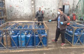 بوتاجاسكو تتخذ بعض التدابير لتعقيم مستودعاتها قبل تداول أسطوانة البوتاجاز | صور