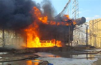 السيطرة على حريق بمحطة كهرباء أبو غالب فى إمبابة