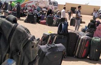وصول الطاقم الطبي على الحدود المصرية السودانية لبدء إجراءات فحص المواطنين العابرين | صور