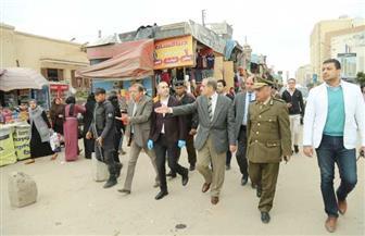 محافظ كفرالشيخ يشرف على غلق الأسواق الأسبوعية وأسواق الماشية |صور