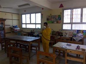 وكيل تعليم جنوب سيناء يتابع خطة إجراءات تعقيم وتطهير المدارس| صور