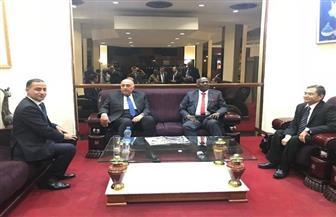  وزير الخارجية يصل إلى كينشاسا فى خامس محطات جولته الإفريقية | صور