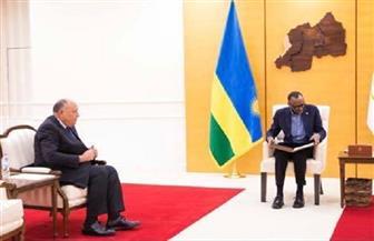 وزير الخارجية يزور رواندا ويسلم رسالة الرئيس السيسي لنظيره الرواندي